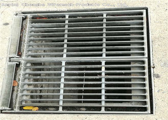 Recyclable Flat Bar Metal Grate Platform With Frame 10 - 300mm Height