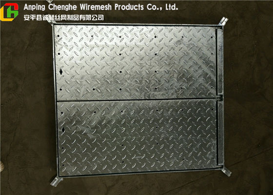 Galvanized Metal Driveway Drainage Grates , Hinge Stainless Steel Grates For Driveways